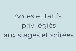 Accès tarifs privilégiés