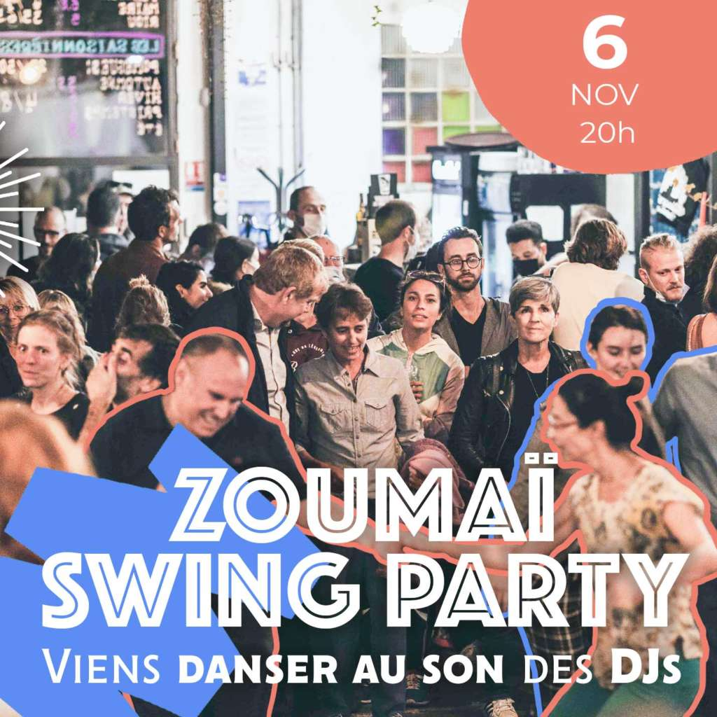 Soirée à la brasserie Zoumai avec The Swing Call
